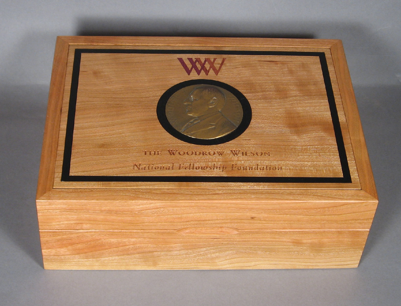 wooden boxes with inlays