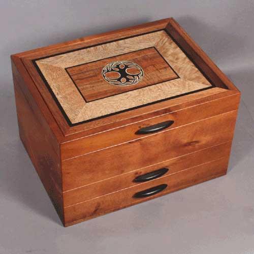 custom inlay jewelry boxes