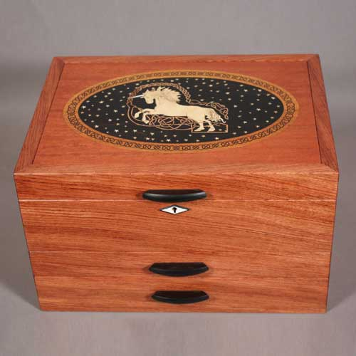 custom inlay jewelry boxes