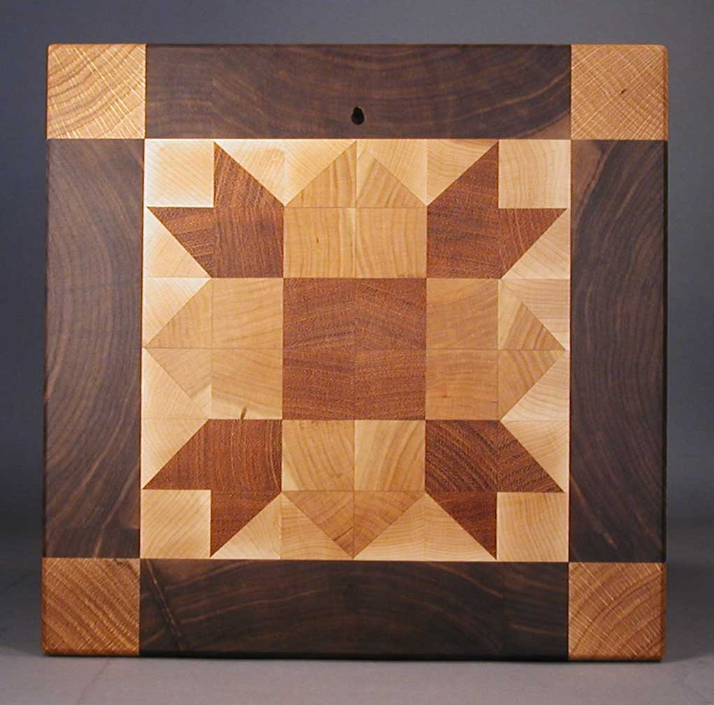 how to make a cutting board from a log