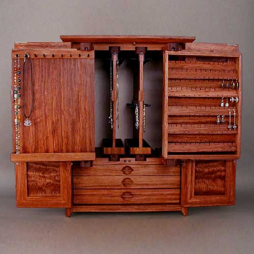 Lockable Jewelry Cabinets