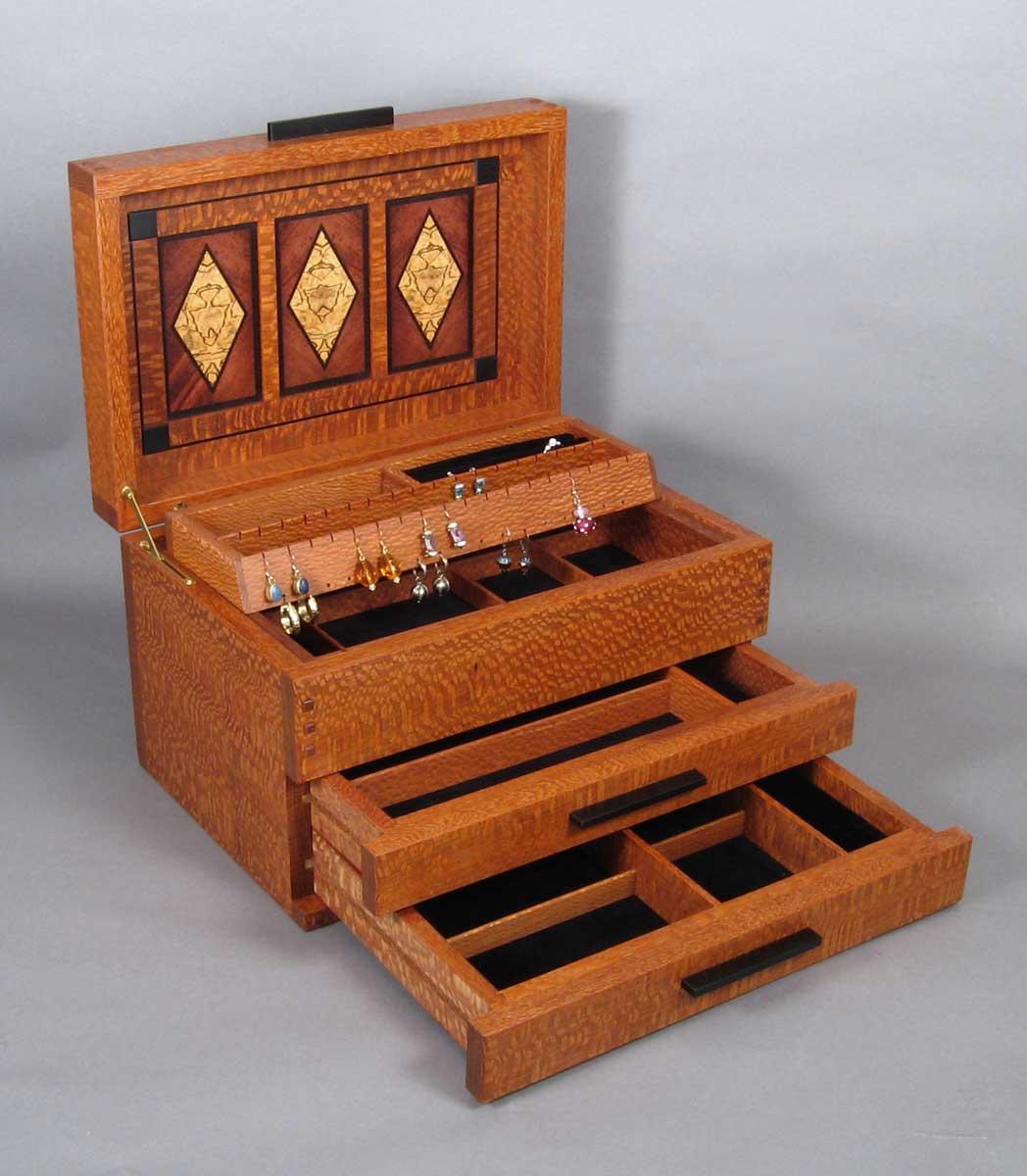 Arts and craft box - Arts And Crafts Jewelry Box