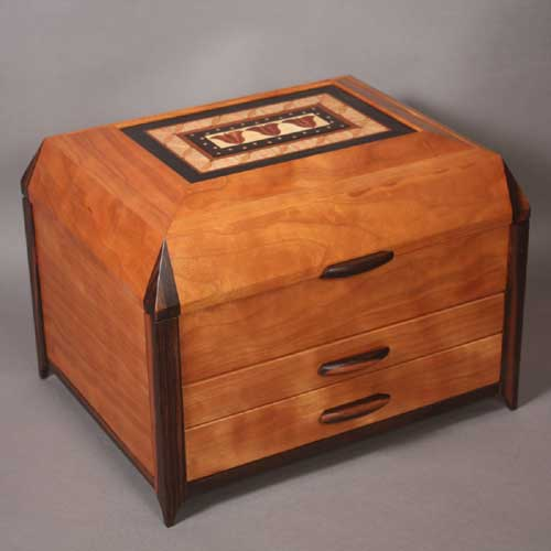 handmade inlaid jewelry box