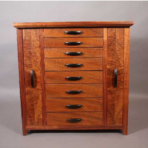 hutch jewelry website koa jewelry cabinet with necklace and earring storage 8819