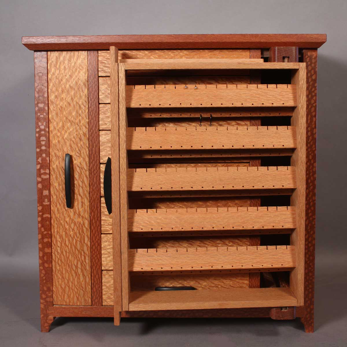 hutch jewelry website lacewood custom jewelry cabinet 1184