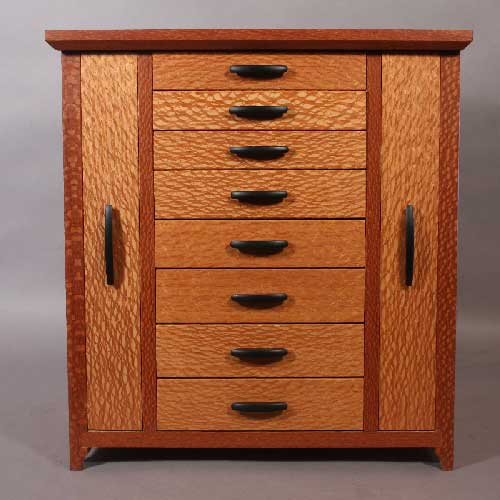 hutch jewelry website lacewood custom jewelry cabinet 9433